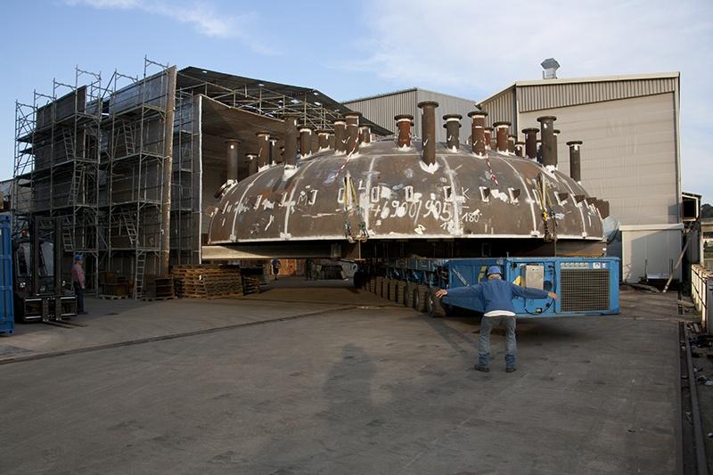 Boiler & Equipment building